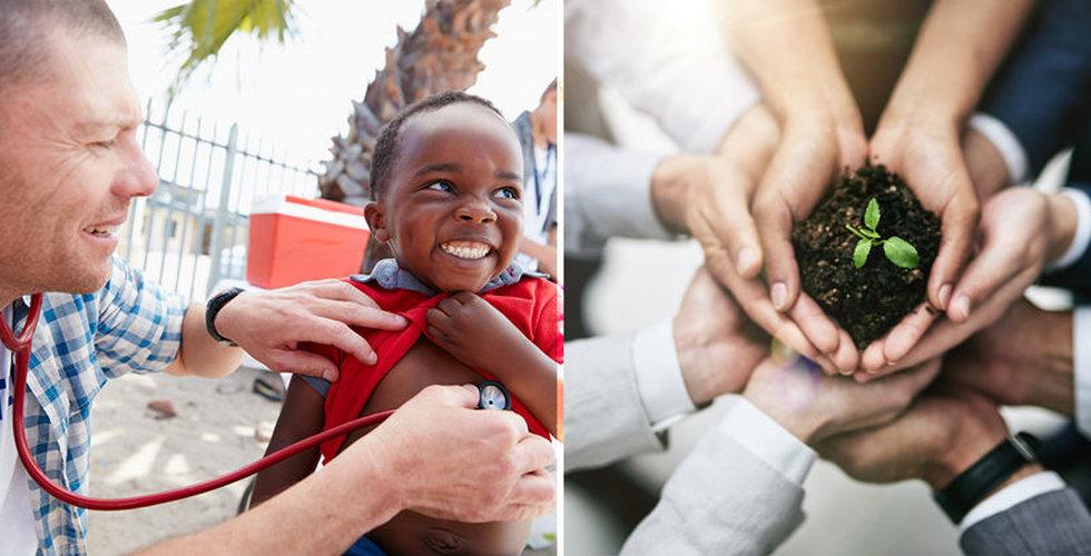 Skatteexperten tipsar: Så skänker du utdelningen till välgörenhet