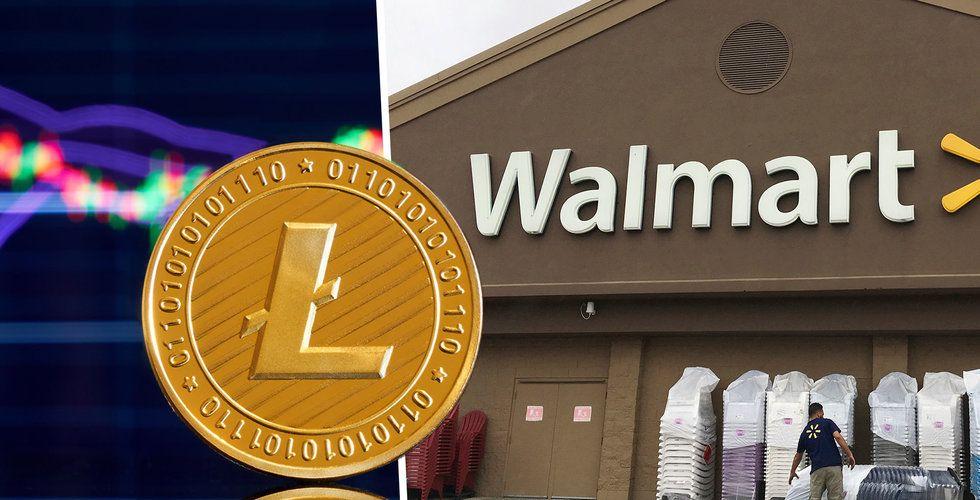 Litecoin rusade efter påhittat samarbete med Walmart