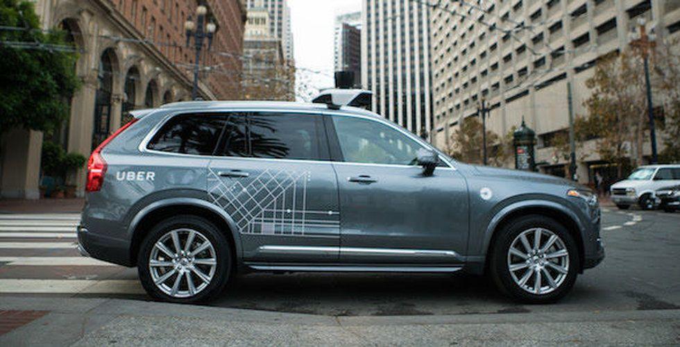 Breakit - Framtiden är här - nu rullar Ubers självkörande Volvos på gatorna