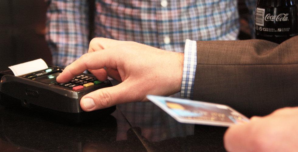 Kontaktlösa betalningar har ökat explosionsartat bland svenska småföretag - iZettle
