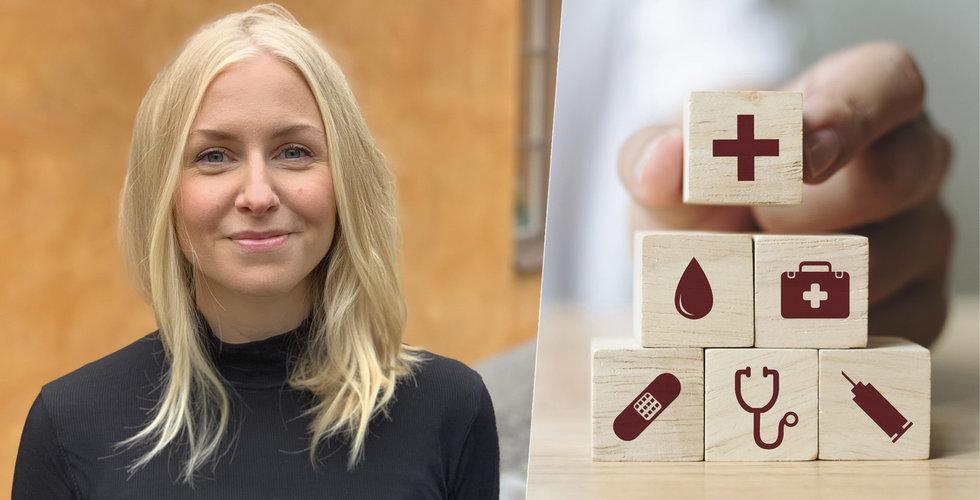 """Carina Franzén vill fixa personalbristen inom vården – """"Ska omsätta 75 miljoner"""""""