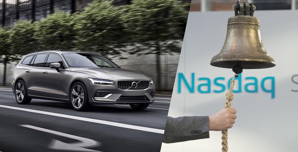 Breakit - Uppgifter: Noteringen av Volvo Cars drar ut på tiden