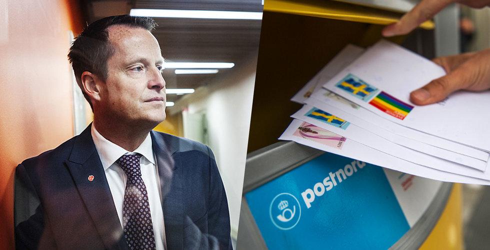 Regeringen godkänner Postnords önskan om höjt porto