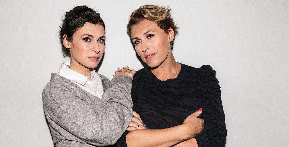 Hannahs och Amandas digitala modemagasin lanseras på nytt