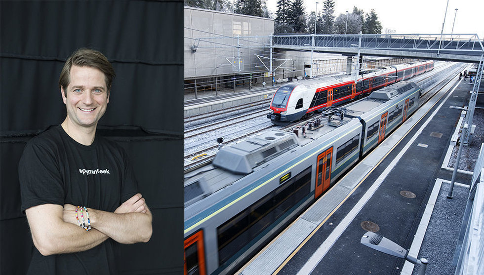 Breakit - Sebastian Siemiatkowskis tågapp tar in 700 miljoner kronor