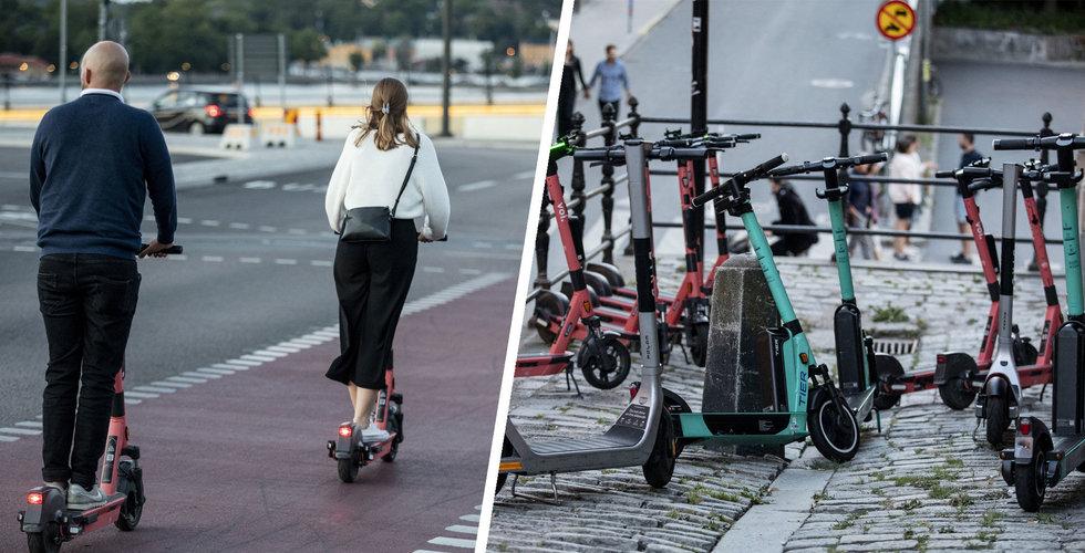Så vill de stoppas kaoset med elsparkcyklarna