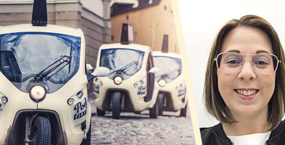 Mirja Ahrén blir vd på taxi-utmanaren Bzzt Stockholm