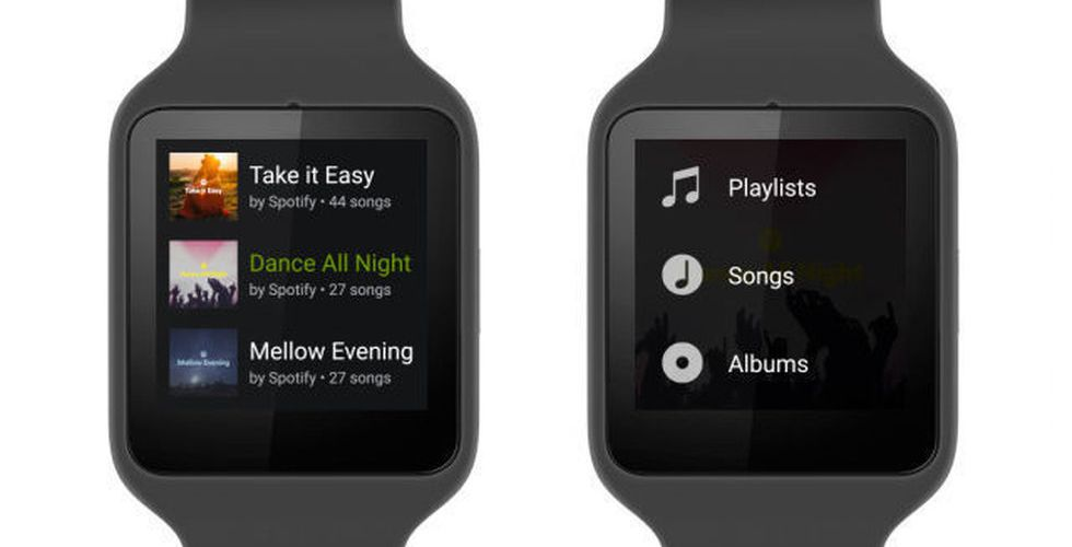 Android Wear + Spotify = Sant