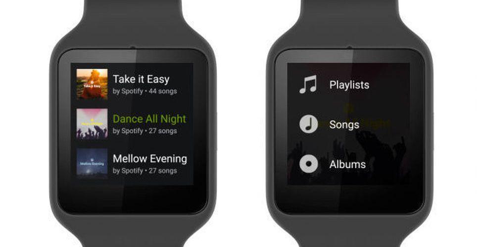 Breakit - Android Wear + Spotify = Sant