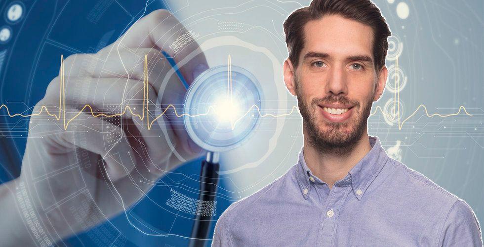 """Johan Baltzar ska göra Kry smartare – """"Vill ge superkrafter till läkarna"""""""