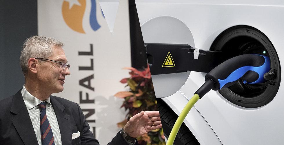 Volvo Cars och Vattenfall ska göra det enklare att ladda bilen hemma