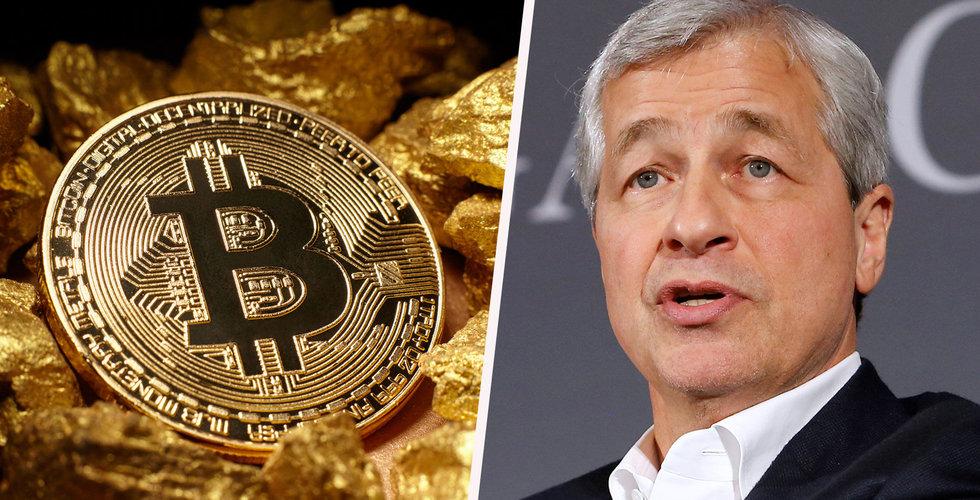 Breakit - JP Morgans vd ångrar att han kallade bitcoin bedrägeri