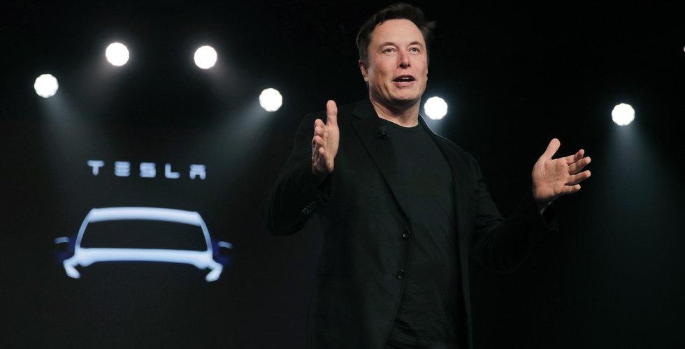 Tesla sätter nytt kursrekord