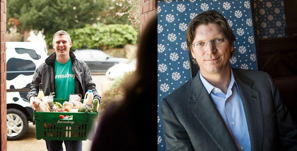 Niklas Zennströms Atomico investerar i foodtechbolaget Farmdrop