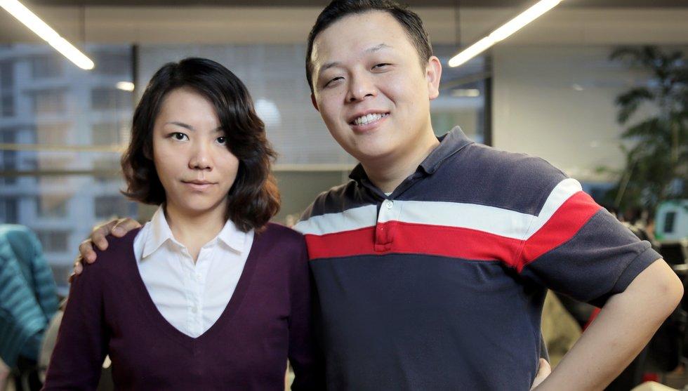 Breakit - Okänt svenskt par bakom en av Kinas hetaste dejting-appar