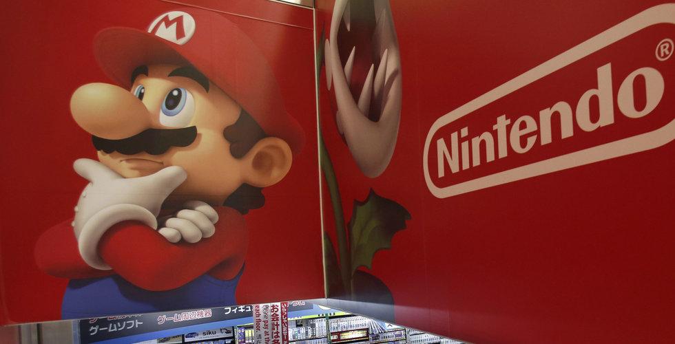 Nintendo-aktien faller efter Super Mario-släppet på Iphone