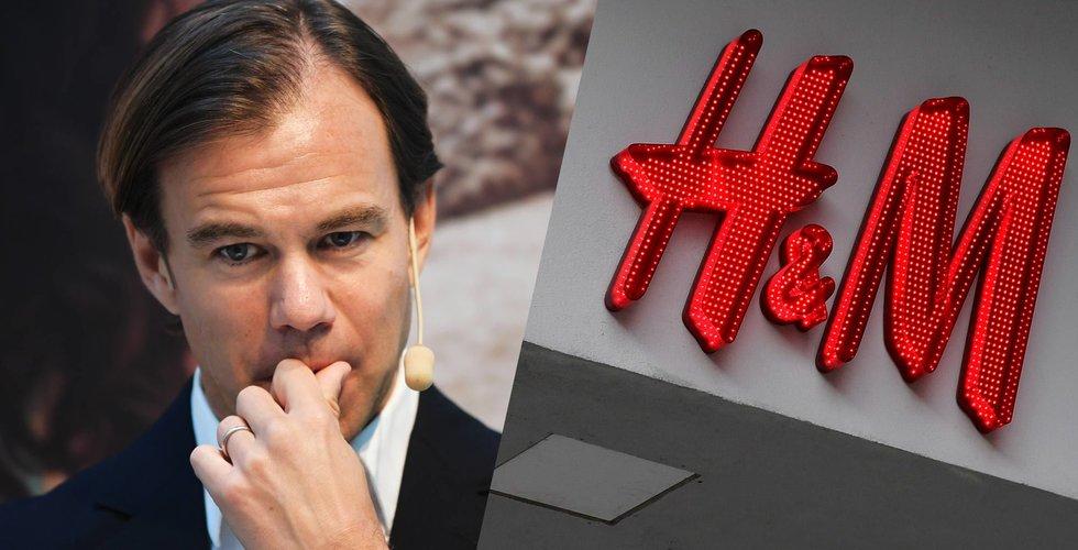 Breakit - Fortsatt problem för H&M – försäljningen hackar
