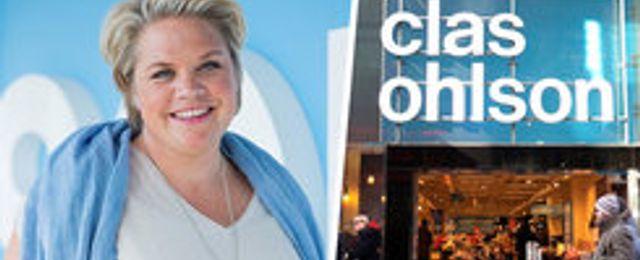 Clas Ohlsons tappade online förra månaden