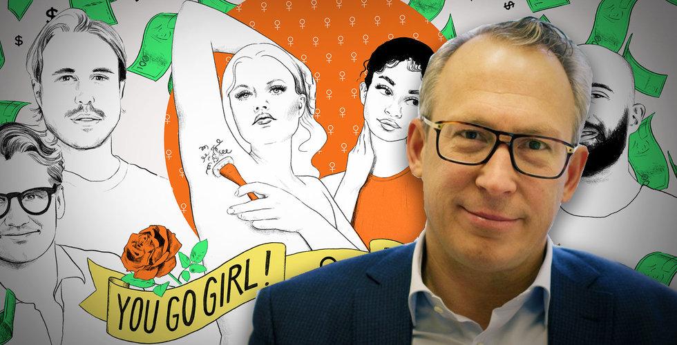"""Patrik Hedelin om femwashing: """"Svårt att få trovärdighet"""""""