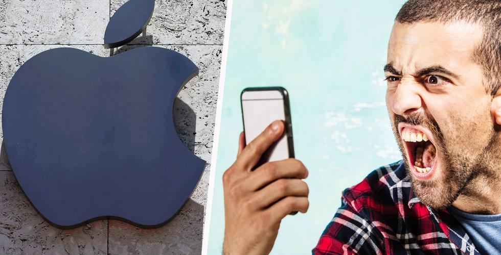 Efter erkännandet – Apple stäms för att ha gjort iphone-modeller långsamma
