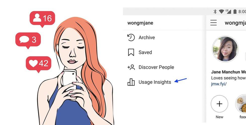 Breakit - Snart kan du få reda på hur mycket tid du lägger på Instagram