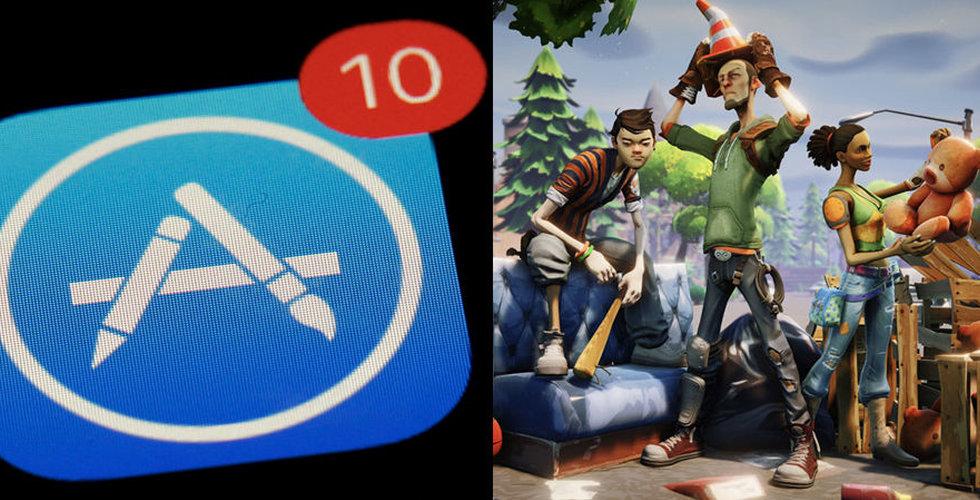 Efter vinstvarningen – rekord för Apple App Store