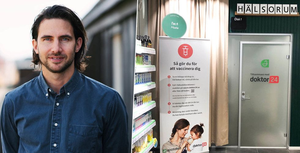 Doktor24 växer – köper Adxto Cares vaccinmottagningar