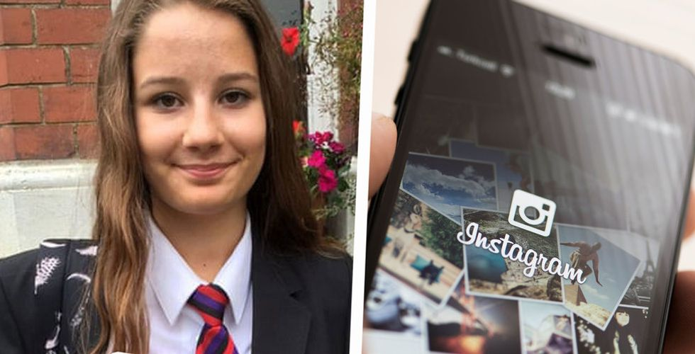 Molly, 14, tog sitt liv – nu hotar ministern att släcka sociala medier