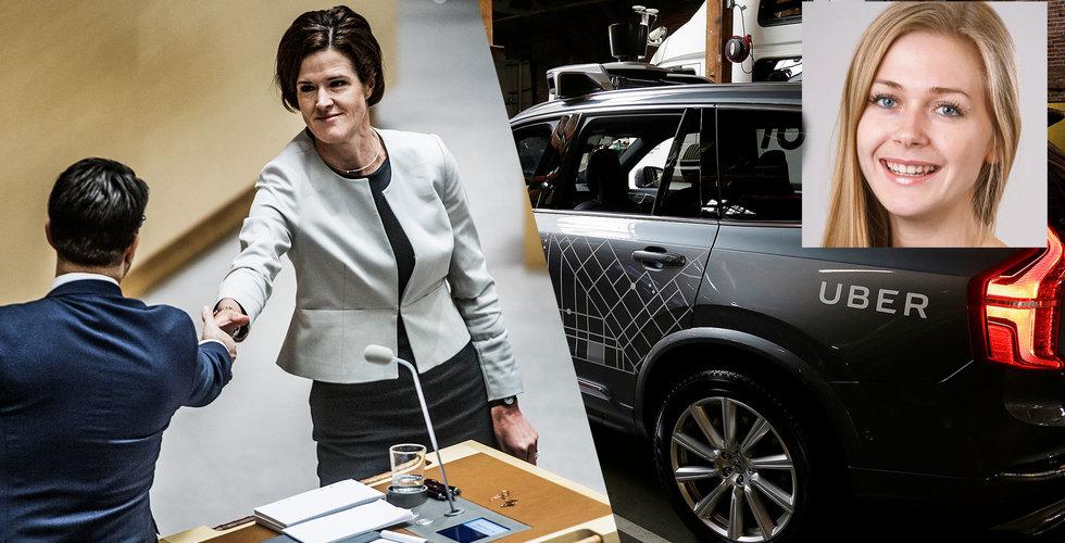 Breakit - Uber-profil lämnar Moderaterna – i protest efter Batras SD-utspel