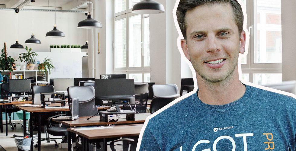 GetAccept stängde kontoren – så ska de lyckas få 100 personer att arbeta på distans