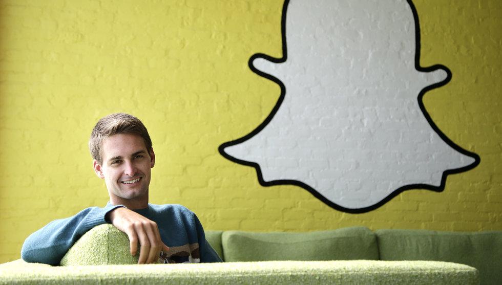 Breakit - Snart kan Snapchat bli större än Facebook - på videovisningar
