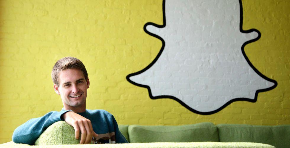 Snart kan Snapchat bli större än Facebook - på videovisningar