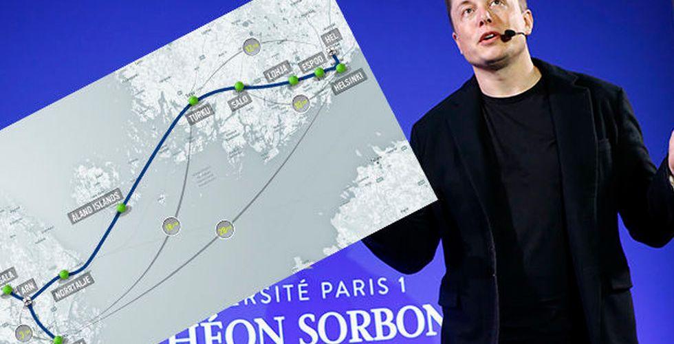 Stockholm till Helsingfors på 30 minuter – idén kan bli verklighet