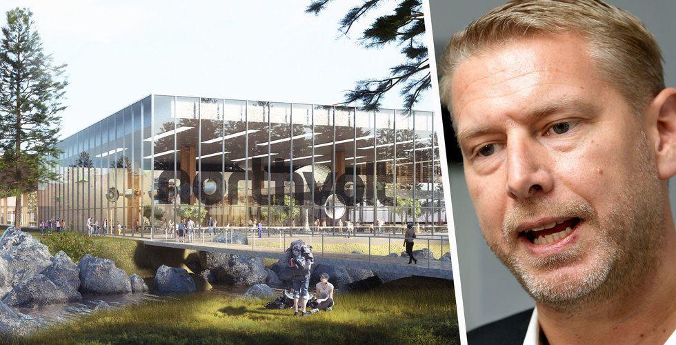 Så snabbt vill Northvolt börja bygga superfabriken i Skellefteå