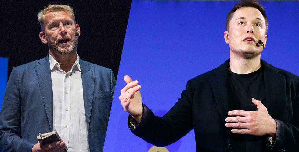 Breakit - Peter Carlsson: Elon Musk tycker det är intressant – men han är väldigt kortfattad