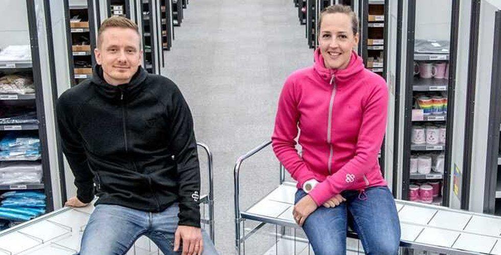 Vårdväskan blev en succé – nu cashar paret in och laddar för expansion
