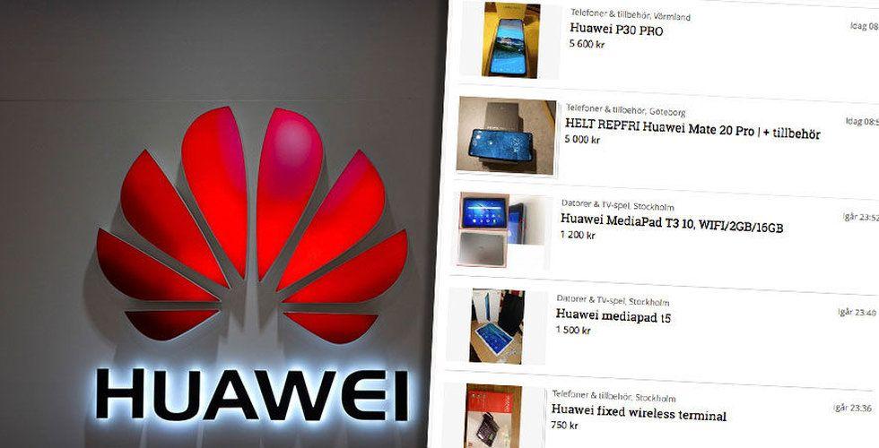 Google bröt med Huawei – nu säljer svenskarna sina mobiler