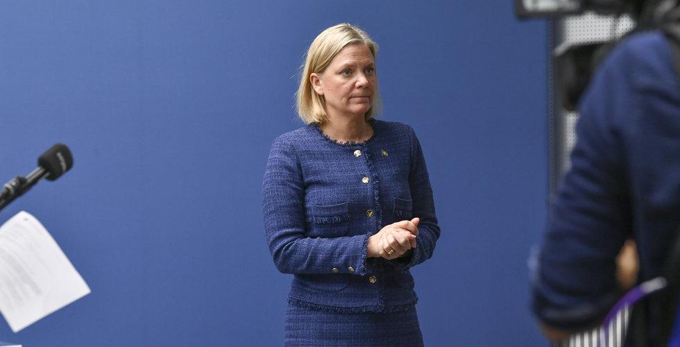 Magdalena Andersson: Så hög kan arbetslösheten bli – här är värsta scenariot