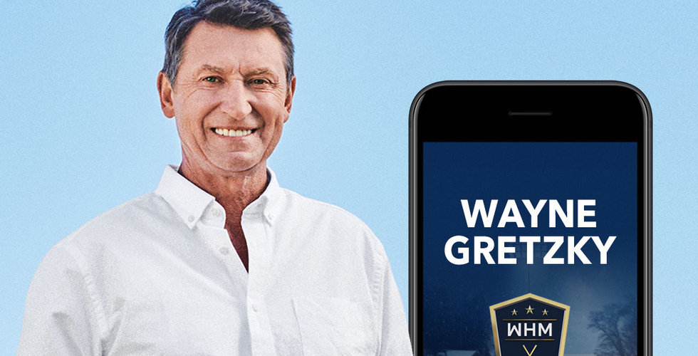 Wayne Gretzky blir delägare Gold Town Games