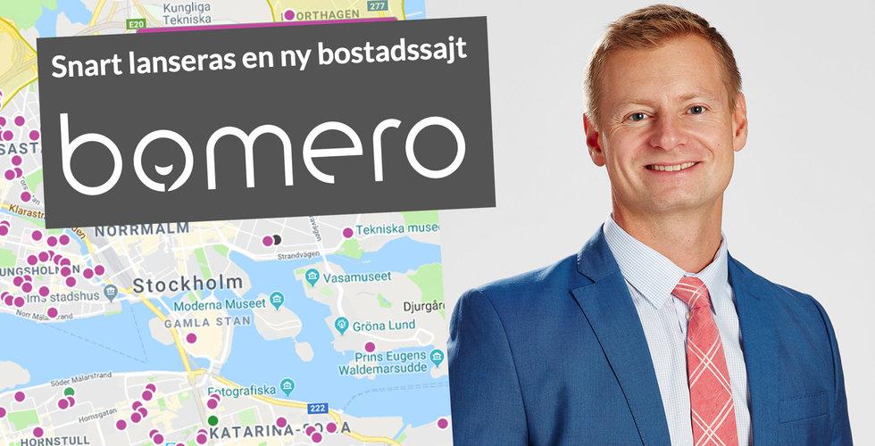 """Mäklarna startar Bomero – en """"Hemnet-dödare"""""""
