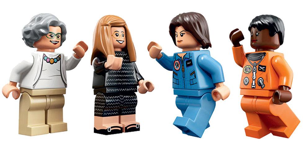 Lego gjorde kända NASA-kvinnor – klättrade upp i topp på försäljningslistan