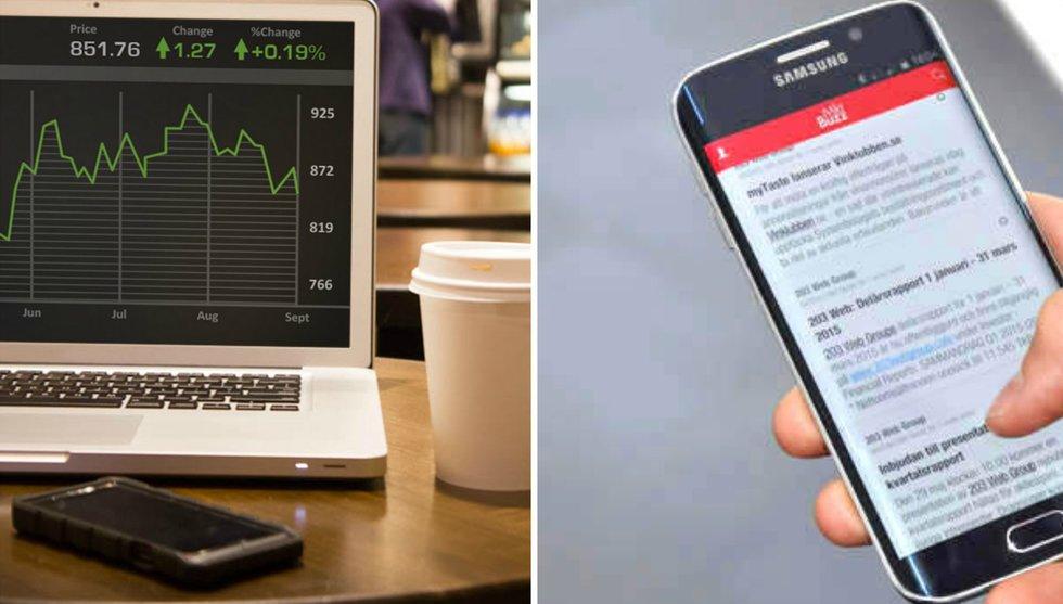 Breakit - Börsskvaller i form av pushnotiser – ny app håller dig uppdaterad