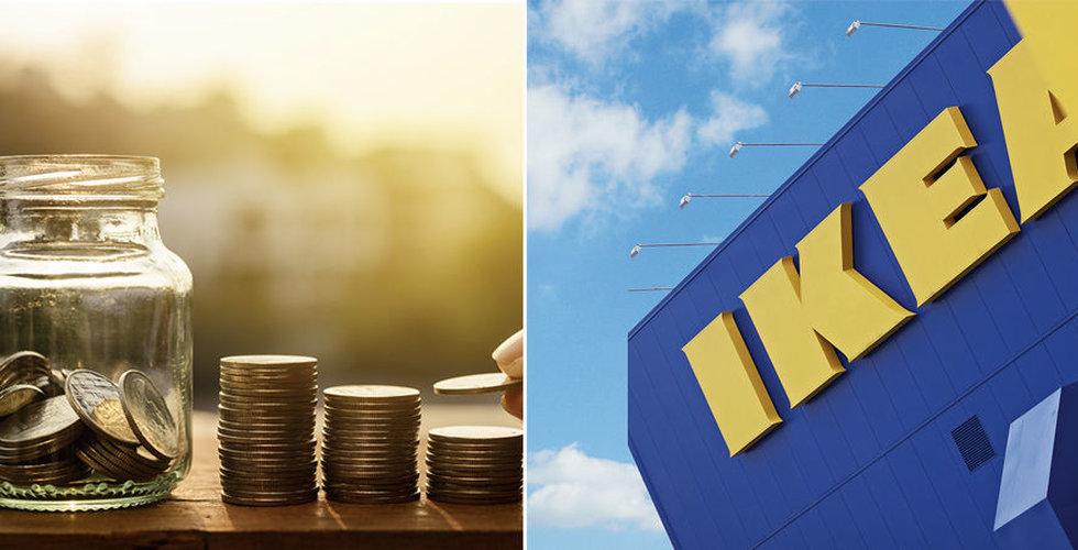 Ikea delar ut en miljard kronor till anställda i lojalitetsprogram