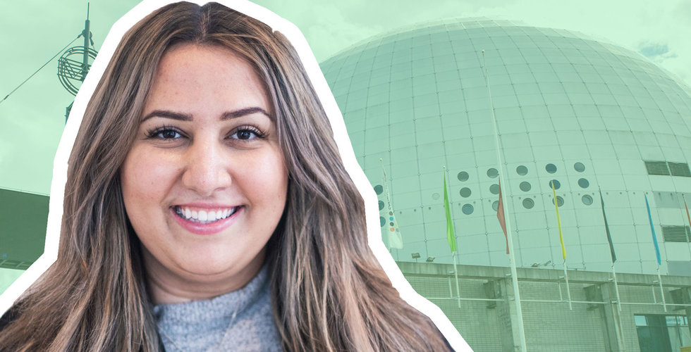 """Andra """"Börshajen"""" Farhads dröm om att fylla Globen krossades av corona – här är hennes nya plan"""