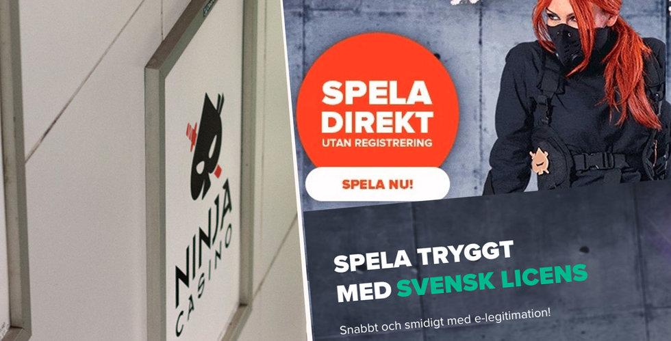 Ninja Casino vill få tillbaka sin licens – Spelinspektionen bestrider