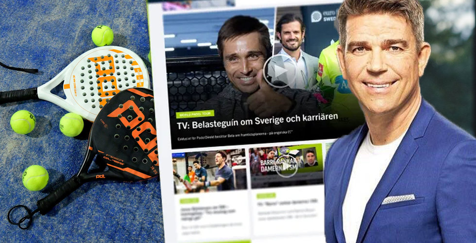 Everysport Media lanserar sajt om padel – Patrick Ekwall med under rivstarten