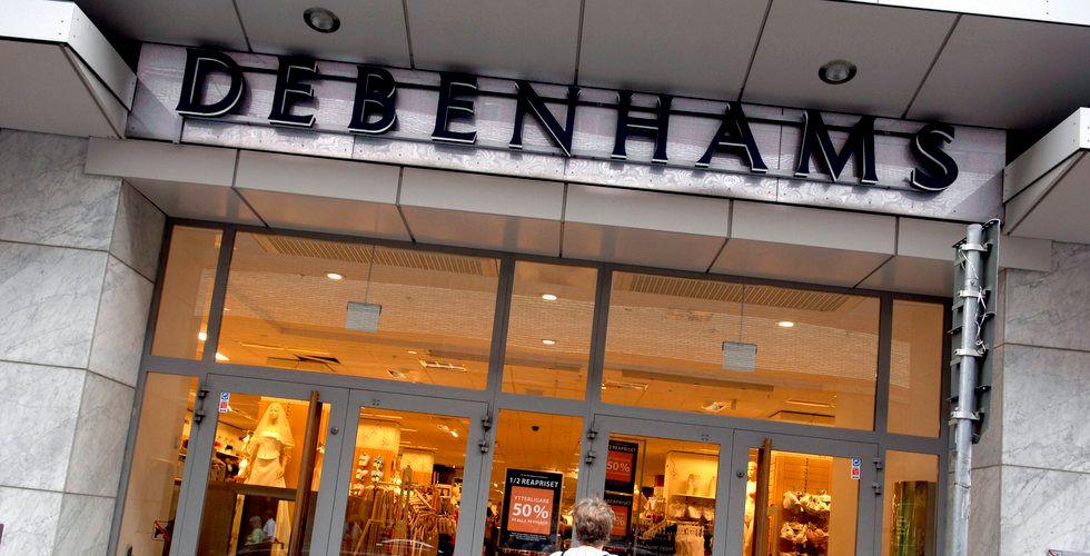 Debenhams ska läggas ned
