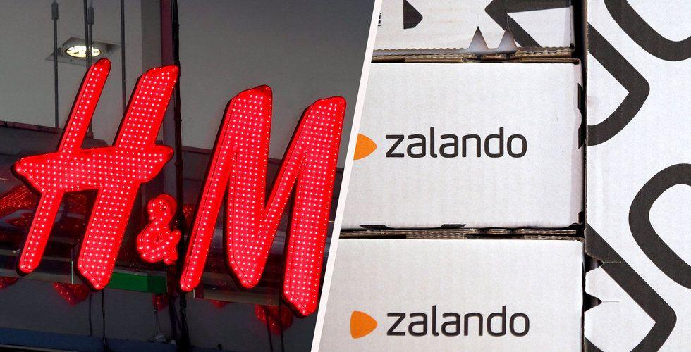 Rykte: H&M kan vara intresserade av lägga bud på Zalando