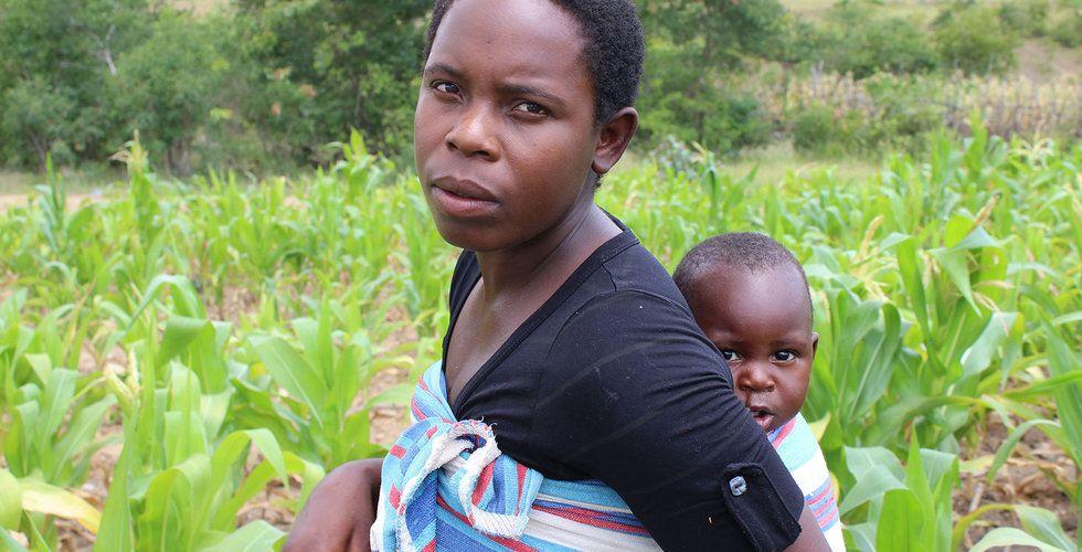 """Så hjälptes Pellagia av Hand in Hand: """"Har råd att låta barnen gå skolan nu"""""""