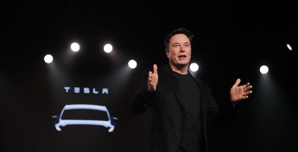 Tesla satte nytt leveransrekord för tredje kvartalet – men aktien föll